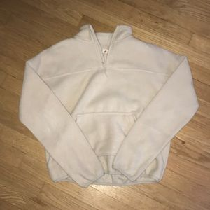 Super cute quarter zip fleece